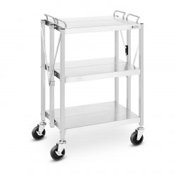 Servírovací vozík - skladací - 90 kg RC-FST635G