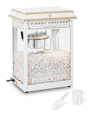 Stroj na popcorn - bielo-zlatý 1600 W RCPS-WG1