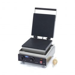 Výrobník karamelových waflí Stroopwafel | Maxima 09374255 má hliníkový pekáč s nepriľnavým povrchom, ktorý zaisťuje dobré vedenie tepla.