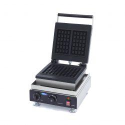 Vaflovač Classic-2 oblátky |Maxima 09374200 je vysoko kvalitný, má hliníkový pekáč s nepriľnavým povrchom, ktorý zaisťuje dobré vedenie tepla