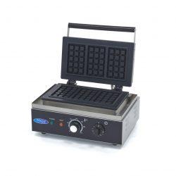 Vaflovač Classic - 3 oblátky | Maxima 09365107 má výkonné vyhrievacie teleso, ktoré dokáže formu rýchlo zohriať a udržať ju horúcu.