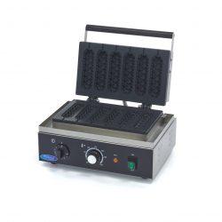 Vaflovač na Hot Dog | Maxima 09365141 má výkonné vyhrievacie teleso, ktoré dokáže formu rýchlo zohriať a udržať ju horúcu.
