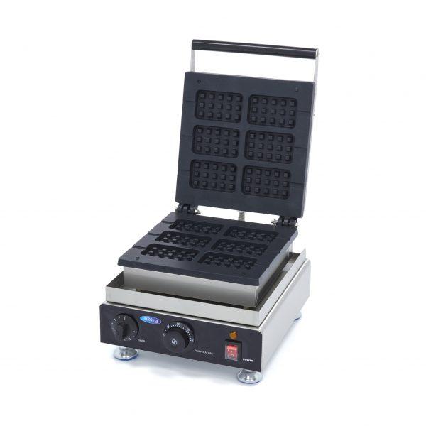 Vaflovač na brusselské wafle - 6 ks | Maxima 09374250 je vysoko kvalitný a vhodný na profesionálne použitie v stravovacom priemysle.