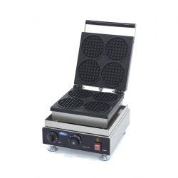 Vaflovač na mini wafle- okrúhly | Maxima09374204 má výkonné vyhrievacie teleso,pomocou kt. sa forma rýchlo ohrieva a ľahko sa udržuje v teple