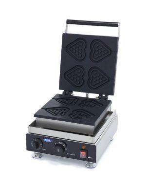 Vaflovač - srdcovitý tvar - 4 ks | Maxima 09374230 je vysoko kvalitná a vhodná na profesionálne použitie v stravovacom priemysle.