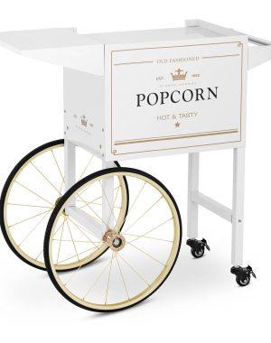 Vozík na popcorn - bielo-zlatý RCPT-WGWG-1