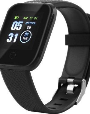 Inteligentné Smart hodinky čierne