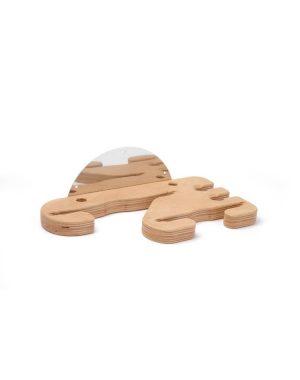 Stojan na pizza lopaty a štetce - drevený | Hendi 617755
