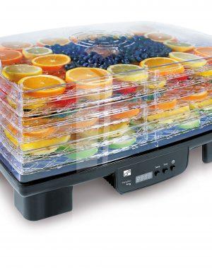 Sušička ovocia 550W - čierna GA550-6