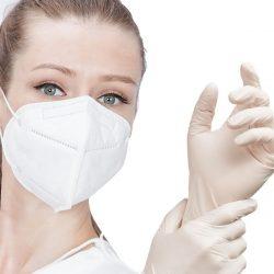Rúška, ochranné rukavice