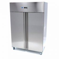 Chladiaca skriňa Luxury R 1200L - nerezová Maxima 09400010