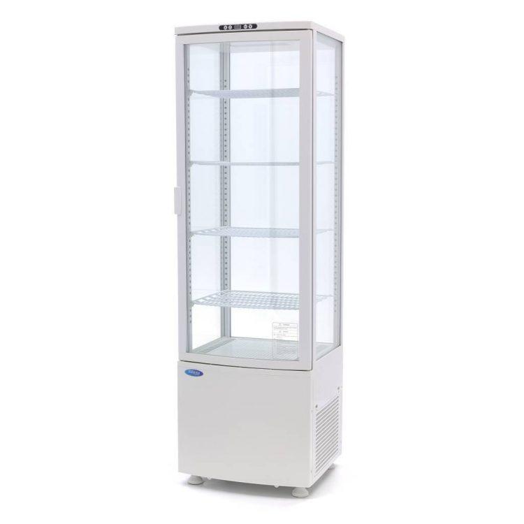 Chladiaca vitrína 235 L - biela Maxima 09400815