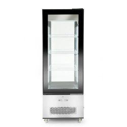 Chladiaca vitrína 400L - čierna | Hendi 233276