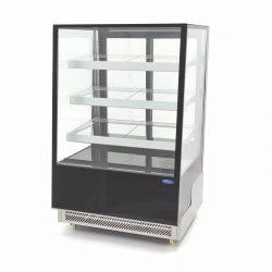 Chladiaca vitrína 500L - čierna | Maxima 09400843