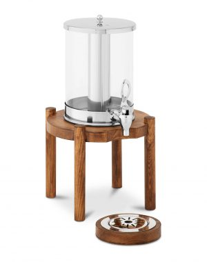 Dávkovač nápojov 7 L - drevený podstavec | RCSD-1W2