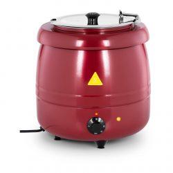 Elektrický kotlík na polievku 10L - červený | RCST-9404
