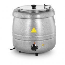 Elektrický kotlík na polievku 10L - strieborný | RCST-9405