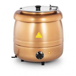 Elektrický kotlík na polievku 10L - zlatý | RCST-9401