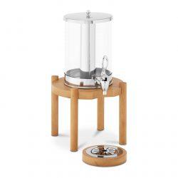 Luxusný dávkovač nápojov 7 L - drevený podstavec | RCSD-1W1