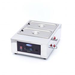 Stroj na rozpustenie a ohrievanie čokolády 2x1/3 GN | Maxima 09374050