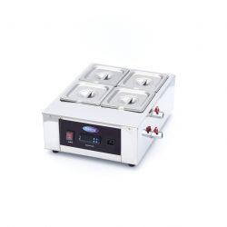 Stroj na rozpustenie a ohrievanie čokolády 4x1/6 GN | Maxima 09374052